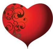 serce zawijasy ilustracji