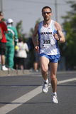 Serchii Zachepa in Prague marathon Royalty Free Stock Image