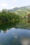 Serchio river, Tuscany (Italy) Royalty Free Stock Image