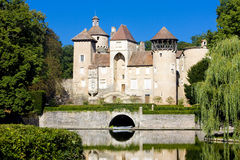 Sercy Castle Royalty Free Stock Photography