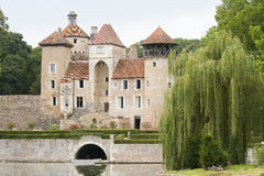 Castle of Sercy, Burgundy, France Royalty Free Stock Photo