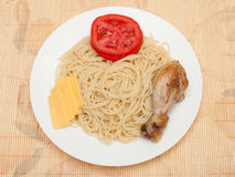 Serdecznie lunch Obraz Royalty Free