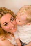 Sere de mãe ao menino Fotografia de Stock