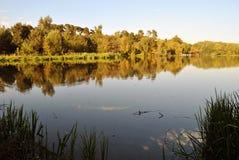 Serebryany Bor. The Bottomless Lake Stock Images