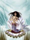 Sereia Ilustração Royalty Free
