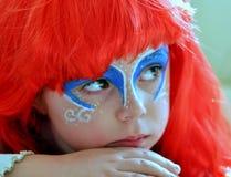 A sereia pequena Ariel.Carnival. foto de stock royalty free