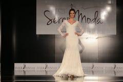 Seren Moda Catwalk Royalty Free Stock Photos