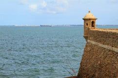 Seren und Verstärkung Cadiz, Spanien Stockfotos