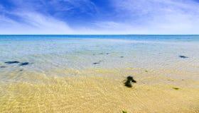 Serena Beach bonito, Mandvi, Gujarat imagens de stock