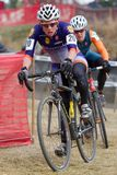 Serena Bishop - Pro Woman Cyclocross Racer Stock Image