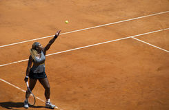 Serena Williams Fotografía de archivo libre de regalías