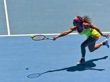 Serena Williams bawić się w australianie open Obrazy Royalty Free