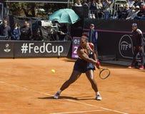 Serena williams brindisi fed cup 2015 Royalty Free Stock Image