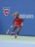 Serena Williams en el US Open 2013 Fotografía de archivo