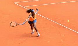 Serena Williams en el WTA Mutua Madrid abierta Fotografía de archivo libre de regalías