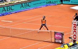 Serena Williams en el WTA Mutua Madrid abierta Fotografía de archivo