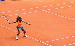 Serena Williams en el WTA Mutua Madrid abierta Imagen de archivo