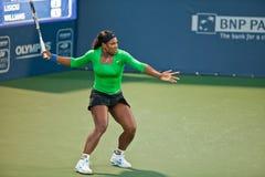 Serena Williams, EUA, jogos no jogo de semifinal fotografia de stock royalty free