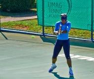 Serena Williams In Umag, Croatia. Royalty Free Stock Images