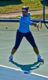 Serena Williams In Umag Kroatien Royaltyfri Fotografi