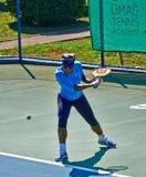 Serena Williams In Umag, Kroatien lizenzfreie stockfotos