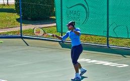Serena Williams In Umag, Kroatien stockfotos