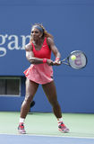 Serena Williams at US Open 2013 Stock Photography