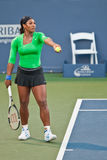 Serena Williams, USA, plays in semifinal game Stock Photo