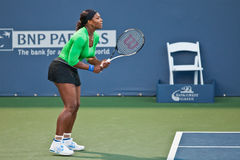 Serena Williams, USA, plays in semifinal game Stock Images