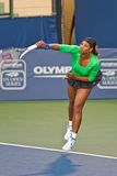 Serena Williams, USA, plays in semifinal game Stock Photography