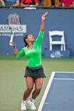 Serena Williams, USA, Spiele im Halbfinalespiel Lizenzfreie Stockfotos