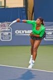 Serena Williams, USA, Spiele im Halbfinalespiel Stockfotografie