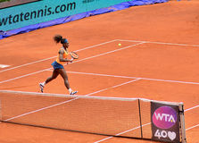 Serena Williams at the WTA Mutua Open Madrid Royalty Free Stock Image