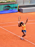 Serena Williams at the WTA Mutua Open Madrid Stock Images
