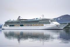 SERENADE OF THE SEAS inbound Alesund, Norway Royalty Free Stock Image