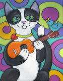serenade ukulele Стоковое фото RF