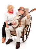 Serenading His Sweetie stock image