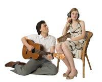 Serenata para el sordo Imágenes de archivo libres de regalías