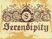 Serendipia Foto de archivo libre de regalías