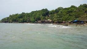 Serendipity beach. Tropical beach serendipity in sihanoukville in cambodia royalty free stock photos