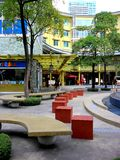 Serendra Park in Bonifacio Global City Stock Image