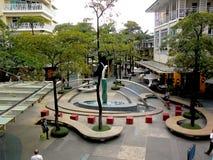 Serendra Park in Bonifacio Global City Stock Photos
