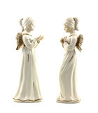 Serene angel figurines Royalty Free Stock Photos