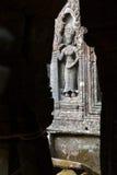 Serene apsaras of Ta Prohm Stock Images