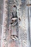 Serene apsaras of Ta Prohm Royalty Free Stock Image