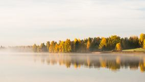 Serene autumn waterscape Royalty Free Stock Images