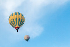 Serene balloon moment Royalty Free Stock Images