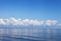 Serene Baltic sea. Stock Photos