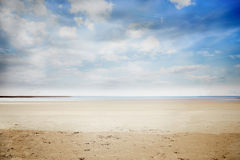 Serene beach landscape Royalty Free Stock Photo