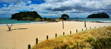 Serene Beach, Mt Manganui, Bay of Plenty New Zeala Stock Image